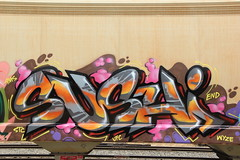 (Runtrains) Tags: train sushi graffiti stc ams freight