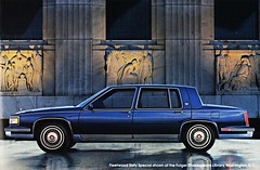 1987 Cadillac Fleetwood Sixty Special (aldenjewell) Tags: dc washington library 1987 shakespeare cadillac special brochure sixty folger fleetwood