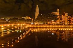 Girona (afrigole) Tags: night fire nikon girona catalunya nit