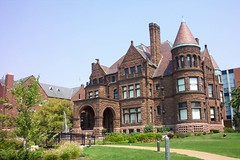 SAMUEL CUPPLES HOUSE ~ St Louis Mo ~ Tour and Art Gallery ~  Historic Mansion (Onasill ~ Bill Badzo) Tags: railroad travel brown house building castle art saint st stone museum architecture louis photo university outdoor border style historic mo midtown historical mansion manor brotherhood tours romanesque samuel brownstone cupples nrhp onasill richersonian