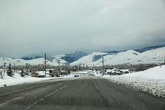 Wyoming Highway 789 (wyojones) Tags: road winter snow storm highway wyoming np winterstorm lander wyojones wyoming789