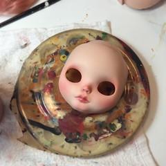 my forever victim (Kittytoes) Tags: blythe custom babette mademoisellerosebud