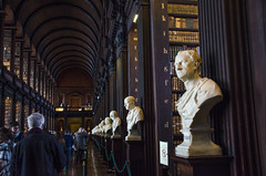Busts in the Library (seamusruizearle) Tags: county ireland dublin irish college trinitycollege trinity select kildare countykildare