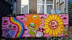 Rotterdam Street art : OX-ALIEN & EDO RATH (Akbar Sim) Tags: streetart holland netherlands graffiti rotterdam nederland lastplak rotjeknor roffa oxalien akbarsimonse edorath akbarsim