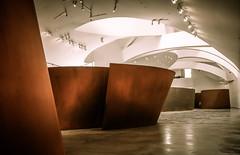Guggenheim, Bilbao (larecettedujour) Tags: sculpture architecture bilbao guggenheim frankgehry richardserra