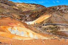 Seltún (holger.torp) Tags: hot rock landscape outdoor springs mountainside geyser reykjanes hver krýsuvík seltún hverasvæði