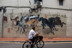 Hourse Wall (Jimmy Colburn) Tags: street art melaka hourse