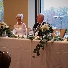 Cheers (michael.veltman) Tags: wedding illinois arboretum jeanne manny morton lisle