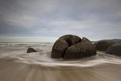Moeraki - Moeraki Boulders 2 (Jaybles_NZ) Tags: ocean sea newzealand beach water boulders nz southisland otago aotearoa moeraki