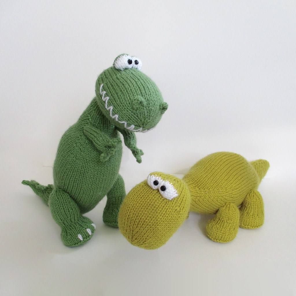 Knitting Pattern Dinosaur Toy : The Worlds Best Photos of brontosaurus and dinosaur - Flickr Hive Mind
