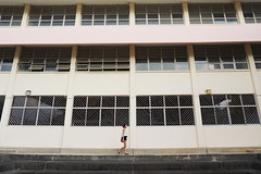 pastel (Jerlene Ng) Tags: school windows abandoned girl singapore walk westlake braddell