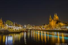 St. Nicolaas Church, Amsterdam (rjcvmilt) Tags: amsterdam canals grachten stnicolaaschurch stnicolaaskerk nicolaaskerk nicolaaschurch