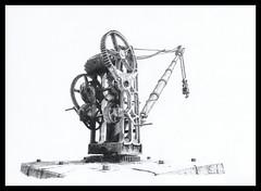 Railway crane (Karwik) Tags: pencil pencils crane drawing railway karpacz dzwig owek rysunek kowary dwig olowek kolejowy