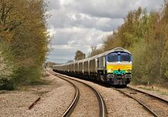 66711 Joan Croft Lane, north of Doncaster (DieselDude321) Tags: west station power north joan 66 class croft lane burton doncaster ecml hunterston 2353 gbrf 66711 shaftholme 6b94