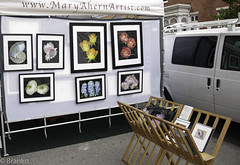 mary ahern - washington square outdoor art exhibit (branko_) Tags: nyc west art square washington village outdoor mary exhibit ahern