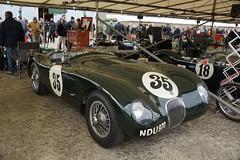 Jaguar C-Type 1953, Peter Collins Trophy, 74th Members' Meeting (f1jherbert) Tags: sony meeting motor alpha circuit goodwood 65 members 74th a65