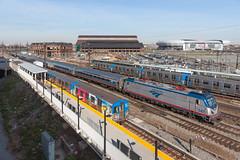 Harrison Station (sullivan1985) Tags: new afternoon nj siemens amtrak rush hour jersey amtk acs64
