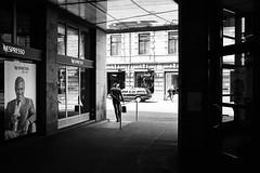 George approves (gato-gato-gato) Tags: street leica bw white black classic film blanco monochrome analog 35mm person schweiz switzerland flickr noir suisse strasse zurich negro streetphotography pedestrian rangefinder human streetphoto manual monochrom zrich svizzera weiss zuerich blanc m6 manualfocus analogphotography schwarz ch wetzlar onthestreets passant mensch sviss leicam6 zwitserland isvire zurigo filmphotography streetphotographer homedeveloped fussgnger manualmode zueri strase filmisnotdead streetpic messsucher manuellerfokus gatogatogato fusgnger leicasummiluxm35mmf14 gatogatogatoch wwwgatogatogatoch streettogs believeinfilm tobiasgaulkech
