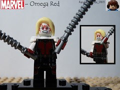 Omega Red (Random_Panda) Tags: comics book comic lego fig character books super hero figure superhero characters heroes minifig minifigs superheroes marvel figures figs minifigure minifigures