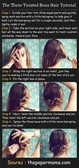 Lange Frisuren Tutorial fr Twisted Bun Updos (scarletconnor) Tags: twisted tutorial fr lange updos frisuren