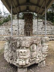 "Copan Ruinas: la Plaza Principal et ses stèles <a style=""margin-left:10px; font-size:0.8em;"" href=""http://www.flickr.com/photos/127723101@N04/26549426185/"" target=""_blank"">@flickr</a>"