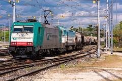 483 005 + 753 733 (atropo8) Tags: italy train nikon merci zug cargo verona treno freight rtc veneto cereali d810 railtractioncompany 483005 753733