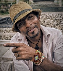 Cuban Man, Havana, Cuba (augenbrauns) Tags: portrait havana cuba cuban photowizard snapseed