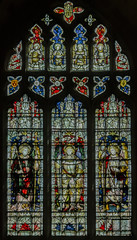 Southwell Minster window s.22 (Jules & Jenny) Tags: stainedglasswindow southwellminster kempe