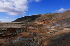 Iceland landscape (GeorgiaMelodie) Tags: wild sky colour ice nature landscape fire volcano lava iceland elements geology volcanic geothermal reykjanes molten elemental geopark
