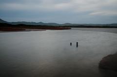 powlett river xiv (Kenneth Rowe) Tags: longexposure sunset greyday multipleexposures powlettriver
