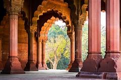"""Through the Arches"" (ericschaffer52) Tags: india delhi redfort 2016 lalquila"