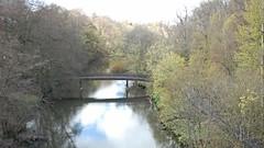 Botanic Gardens Bridge (Wider World) Tags: bridge trees wallpaper scotland spring glasgow pastel kelvin gorge westend 16x9 rnbkelvin