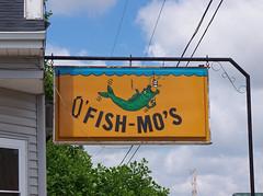 OH St Henry - Fish Mo's (scottamus) Tags: old ohio sign vintage plastic mercercounty sthenry fishmos