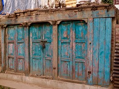 Bhaktapur, Nepal (Sharon and Peter Komidar) Tags: door nepal doors bhaktapur