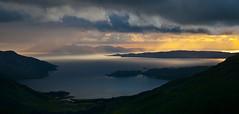 .. (ela dzimitko) Tags: autumn sunset mountains west water coast scotland remote knoydart