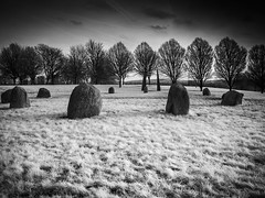 Hilly Fields Park. (blackwoodse6) Tags: park uk trees england blackandwhite london ir outdoors standingstones lewisham infrared vignetting vignette southlondon stonecircles brockley southeastlondon londonparks se13 720nm se4 canonpowershotg10 canong10