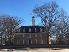 Capitol exterior: Colonial Williamsburg