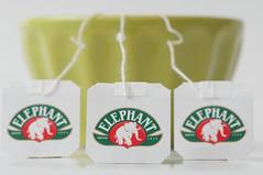 Tea Tag [Explored] (tounesse) Tags: elephant macro cup tasse tea tag bowl explore bol hmm herd cupoftea tassedeth macrophotography th 105mm d90 explored teatag sb900 macromondays elephantdepuis1896