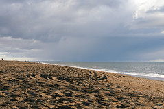 StorM (Soe Tejera) Tags: sea sky patagonia storm beach argentina clouds sand waves union playa nubes tormenta chubut