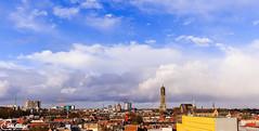 Utrecht, City Skyline (SkyBlue Photography Pro) Tags: netherlands skyline utrecht domtoren dom nederland centrum kerk stad gracht skylinr nicolaikerk klaaskerk