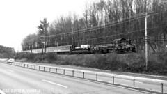 CMRR 401 at Hurley, NY (ovondrak) Tags: cmrr alco rs1 kingston newyork polarexpress catskillmountainrailroad