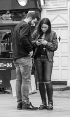 Snap a Stranger (24/366) (AdaMoorePhotography) Tags: people white black london mono nikon day strangers jeans denim 24 366 d7200