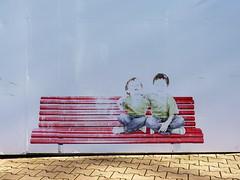 Arcachon, Gironde, ville d't. (Marie-Hlne Cingal) Tags: france bench 33 banc arcachon sudouest aquitaine gironde twozweideuxduedva2 villedt