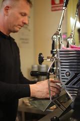 COFFE EXPERIENCE (maikrofunky) Tags: coffee caf 35mm bokeh espresso notreatment caftornado