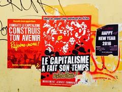 Voeux 2016  Marseille (Fred Bigio) Tags: new rouge year communism revolution capitalism communisme 2016 communistes capitalisme rvolte jeunesses