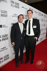 Ryan Ruel & Steve Gatena (Steve Gatena) Tags: living ryan aviation chief steve hilton hollywood ceo legends beverly helicopters executive officer ruel stuntman helinet gatena