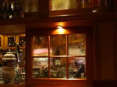 Pub window                **Explored ** (boeckli) Tags: exploreroftheseas windows pub fenster indoor bar windowwednesdays thecrownkettle dwwg explore schiff ship cruiseship trolled