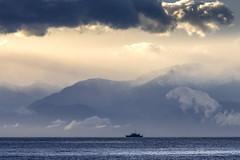 HMCS Brandon (Paul Rioux) Tags: canada clouds training boat marine ship military brandon reserve vessel canadianarmedforces olympicmountains hmcs juandefucastrait salishsea royalcanadiannavy prioux maritimecommandpacific