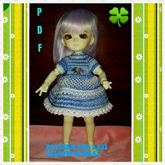 PDF Pattern on etsy my story Koreanshop (worlddoll86) Tags: yellow outfit knitting pattern dress crochet special clothes tiny bjd pdf  latidoll lati yosd koreanshop worlddoll    vikulya8686