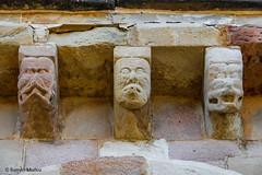 DSC0232 Santa Mara de Eunate, siglo XII, Navarra (ramonmunoz_arte) Tags: santa de arte xii mara navarra templarios siglo romnico eunate